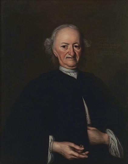 Conrad Zellweger-Tanner, Öl auf Leinwand, 1747