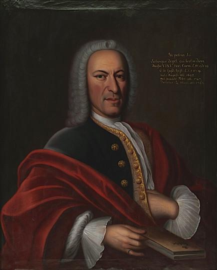Laurenz Zellweger, Öl auf Leinwand von Johann Georg Koch, 1747